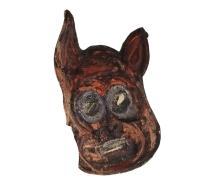 Basil Hadley (1940 - 2006)b (13 works) - Mask Series, 1962 various sizes, largest 46.5 x 38.5 cm