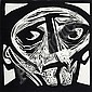NOEL COUNIHAN (1913-1986) - Face II 1978 linocut, edition: 10/40, Noel Counihan, Click for value