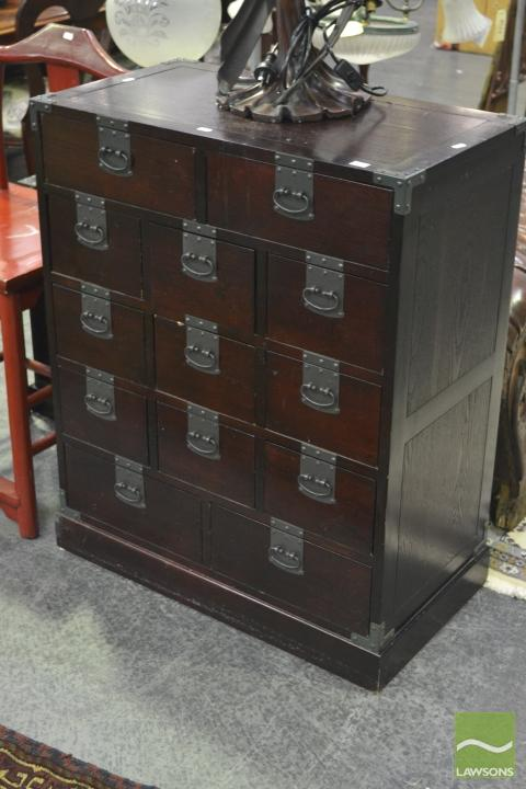 Chinese 13 Drawer Cabinet