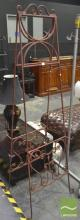 Wrought Iron Easel with Scrolled Work