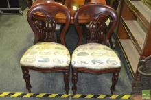 Set of 12 Balloon Back Chairs