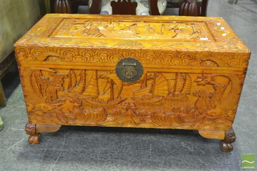 Camphorwood Lift Top Trunk
