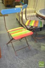 Set of 4 Timber Outdoor Chairs