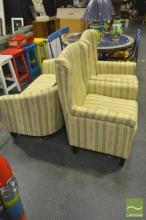 Fabric 3 Piece Lounge Suite