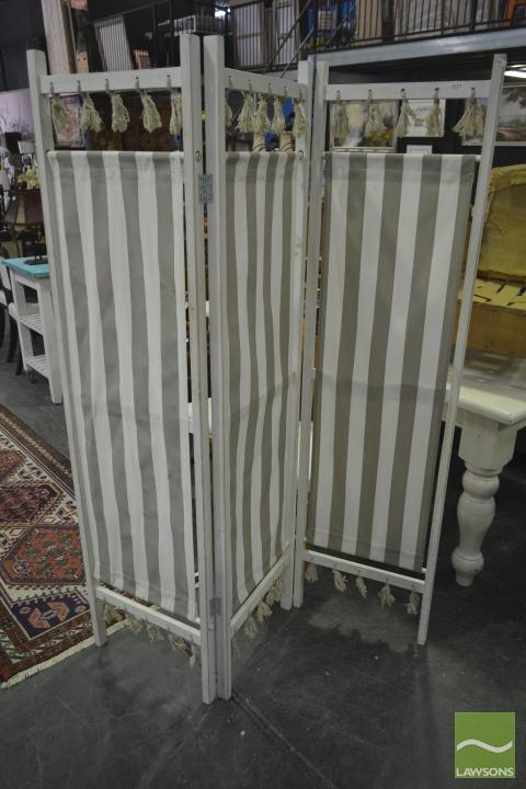French Style Fabric Screen
