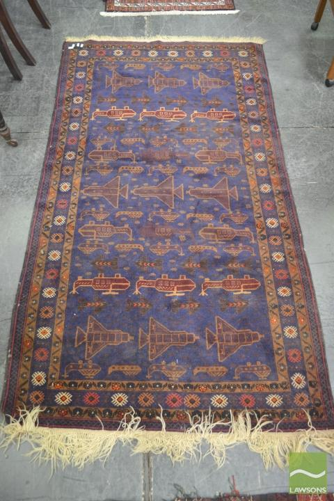 Tribal War Carpet (110 x 200cm)