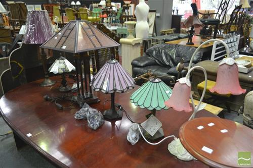 Large Collection of Table Lamps