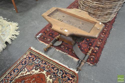 Timber & Metal Table Base