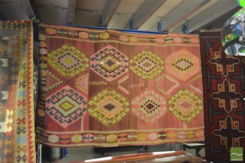 Kilim Carpet, Signed (158 x 295cm)