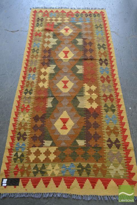 Persian Kilim (196 x 88cm)