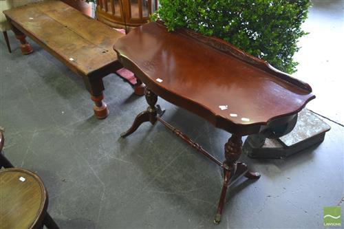 Regency Style Shield Shaped Hall Table