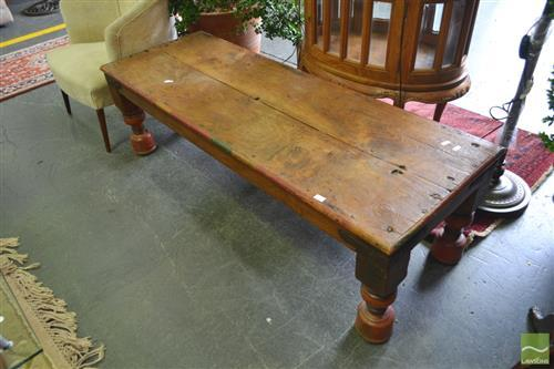 Rustic Anglo Indian Coffee Table