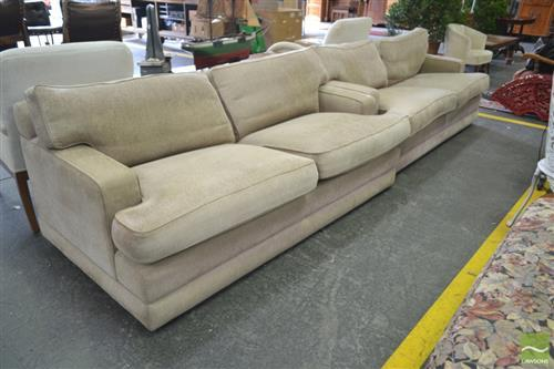 Pair of 2 Seater Lounges, Possibly Fanuli