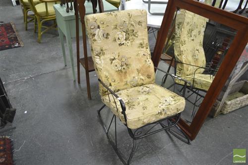 Metal Rocking Chair