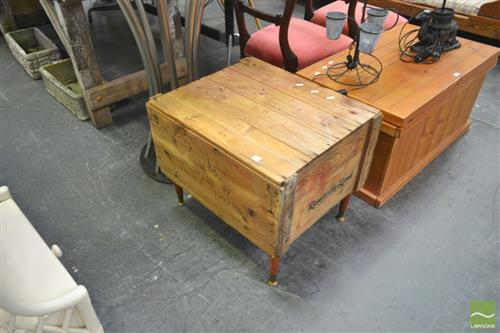 Rustic Crete Form Coffee Table