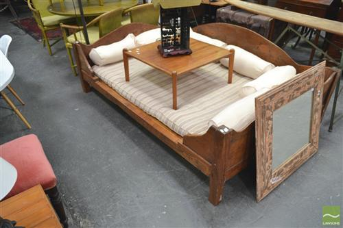 Large Tropical Teak Day Bed