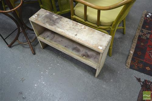 Pair of Timber Stands