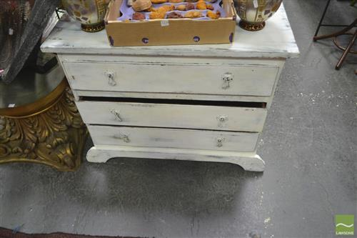 Rustic 3 Drawer Chest
