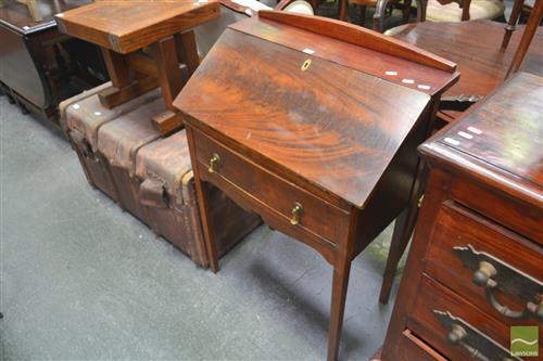 Rustic Drop Front Desk