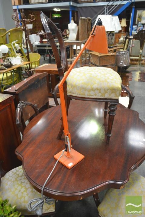 Orange Planet Lamp