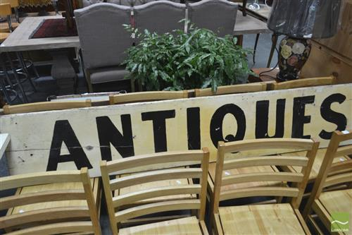 Timber Antiques Sign