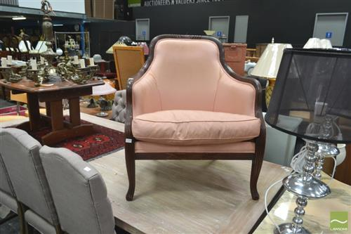 Upholstered Tub Chair ( Small Tears to Upholstery)