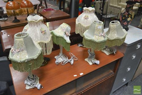 Set of 6 Table Lamps