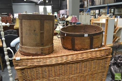 Vintage Buckets x 2