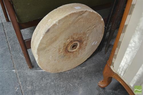 Stone Axe Sharpening Wheel