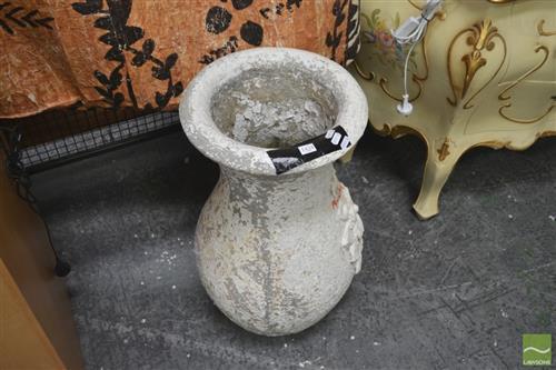 Concrete Form Garden Urn