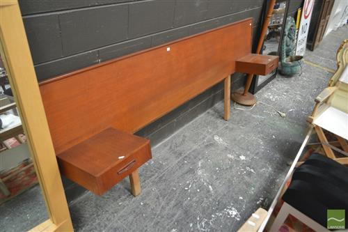 Parker Double Bedhead w 2 Drawers
