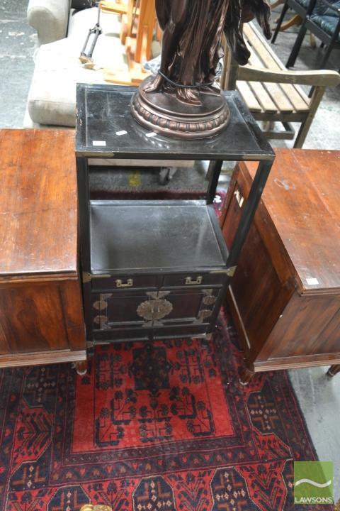 Oriental 2 Tier Cabinet