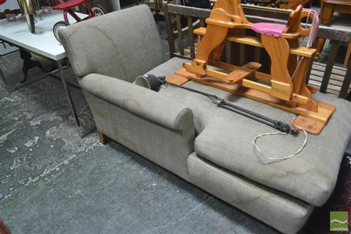 Modern Chaise (stained)