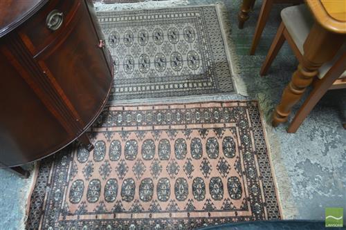 2 Small Rugs (80 x 116cm each)