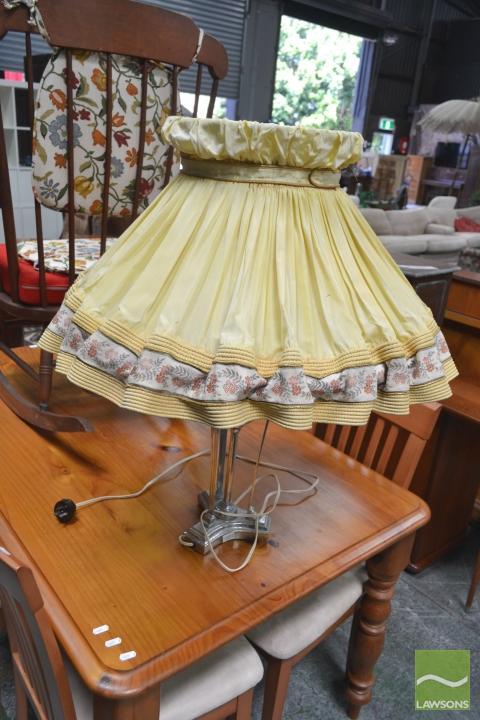 Vintage Chrome Lamp