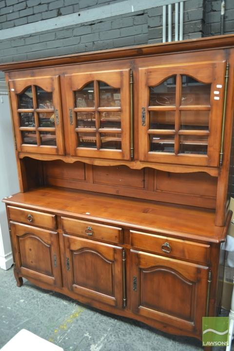 Large Timber Buffet & Hutch
