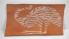 Anchor Barbuwa Wurrkidj (1924 - 1977) - Emu 72.5 x 41cm