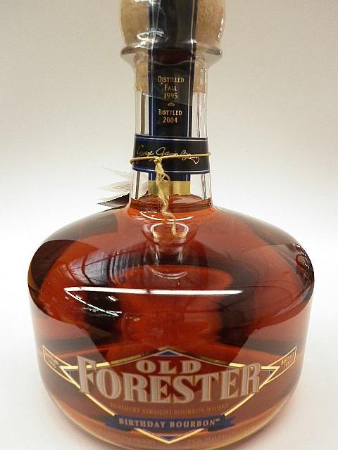 Old Forester Birthday Bourbon - Distilled 1995, Bottled 2004, 47%