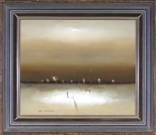Eris Fleming (1943 - ) - Five Miles From Graman 27 x 33 cm (frame: 44 x 38 x 3 cm)