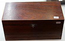 Mahogany Brass Deed Box
