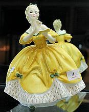 Royal Doulton 'The Last Waltz' Figure