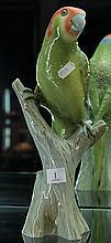 Amphora Parrot Figure