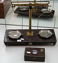Set of Griffin & Tatlock Bakelite Scales with Weights