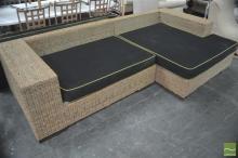 Oversized Cane Lounge