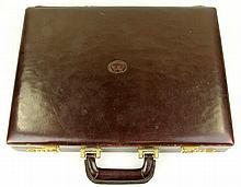 Matras Leather Attache Case