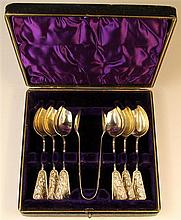 Chinese Silver Spoon Boxed Set