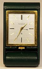Jaeger-LeCoultre Eight Day Travel Clock