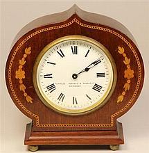 Duverdrey & Bloquel Timber Clock