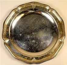 Continental Silver Dish
