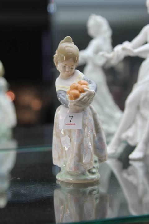 Lladro Lady Figure